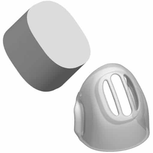 Diffuser filter pack for Eson cpap mask